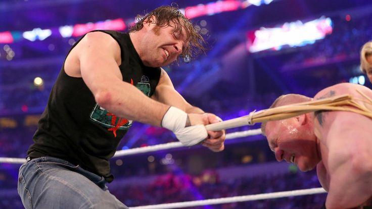 Dean Ambrose vs. Brock Lesnar - No Holds Barred Street Fight: photos