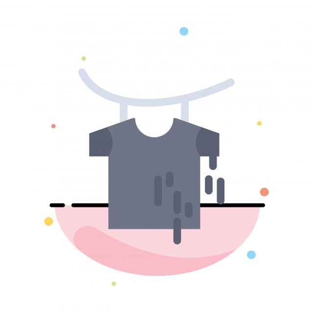 Clothes Drying Hanging Abstract Flat Color Icon Template Color Icons Template Icons Abstract Icons Png And Vector With Transparent Background For Free Downlo Cleaning Clothes Templates Icon