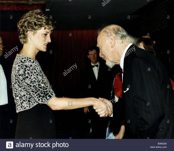 Josef Locke Irish Singer and Princess Diana March 1992