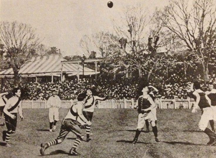 Carlton v South Melbourne in 1907