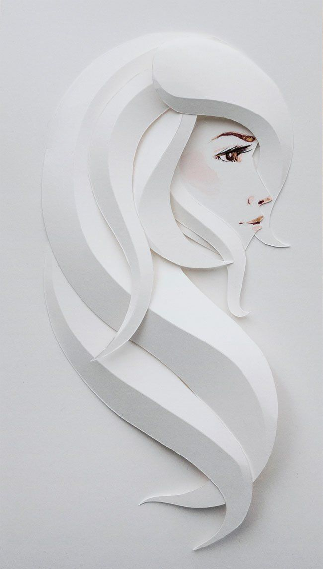 "Belinda Rodriguez Paper Sculpture : ""Split Personality"" Series"