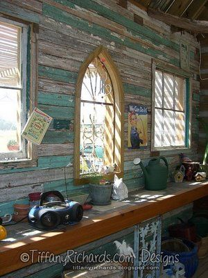 Garden Shed Interiors