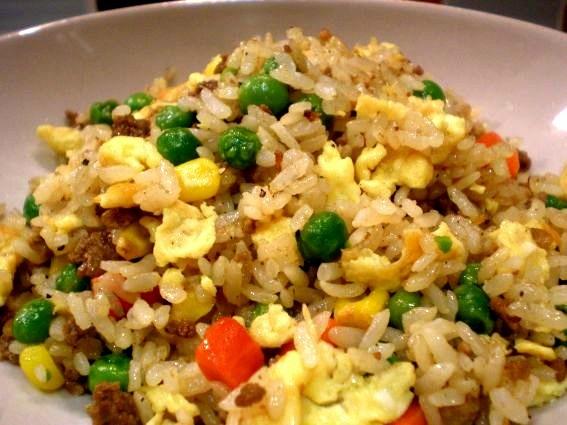 Sesame Chicken Fried Rice Recipe