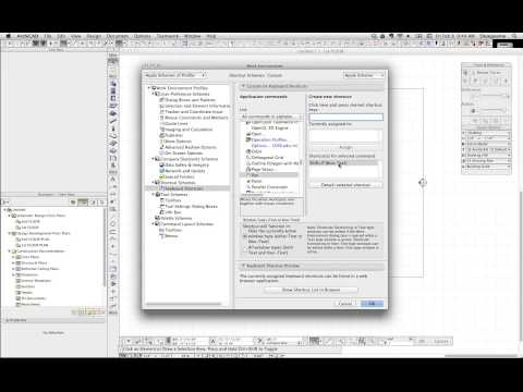 ArchiCAD Tip #15: Defining new Keyboard Shortcuts in ArchiCAD