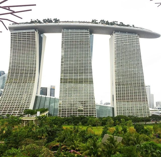 Marina Bay Sands holiday resort  Source: manflx69  Instagram account