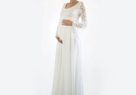 Best 25+ Maternity Wedding Dresses Ideas On Pinterest