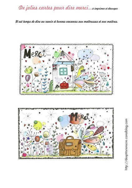 Pour la maîtresse (ou pour les parents qui offrent un cadeau à la maîtresse !) http://desptitsrienscre.canalblog.com/