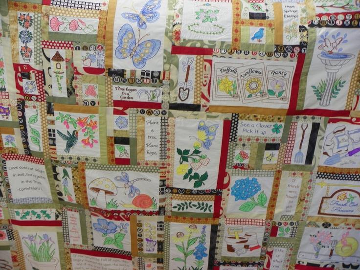 Anita Goodesign Prayer Garden Class Project Calla Lilly