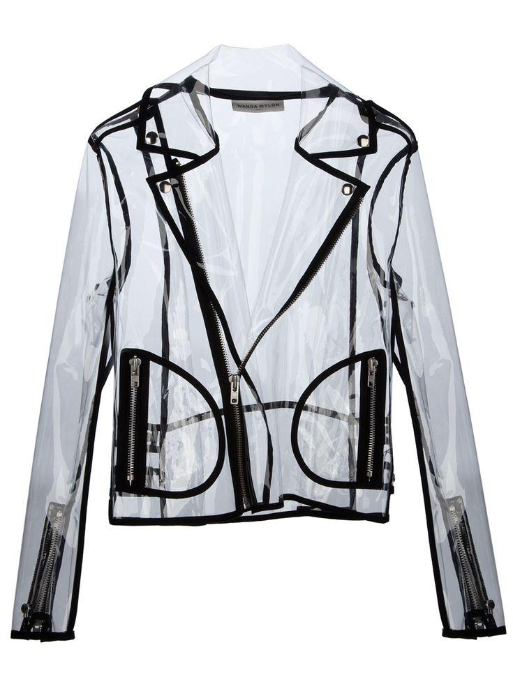 Wanda Nylon Short Zip-Up Rain Jacket. Yes I gave it a lot of thought, it's a good idea.