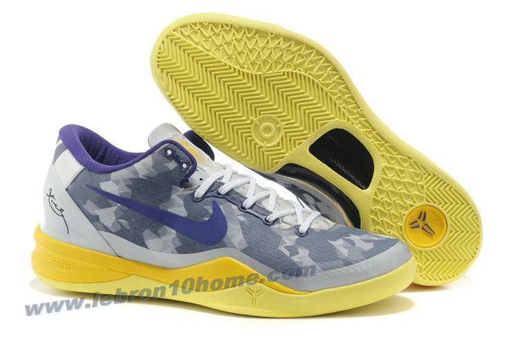separation shoes c541e 7d6e4 Star s favorite Year Of The Snake Nike Zoom Kobe VIII Grey Volt-Pure  Platinum 555035 058 Basketball Shoes Store