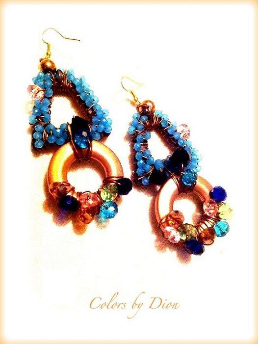 ..handmade earrings..