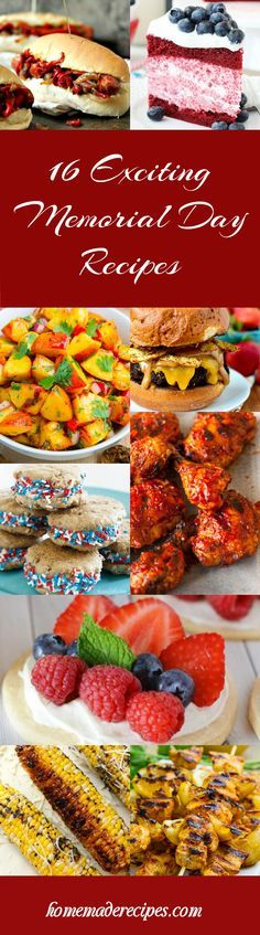 Best Party Recipes For 4th of July by Homemade Recipes at http://homemaderecipes.com/memorial-day-recipes/