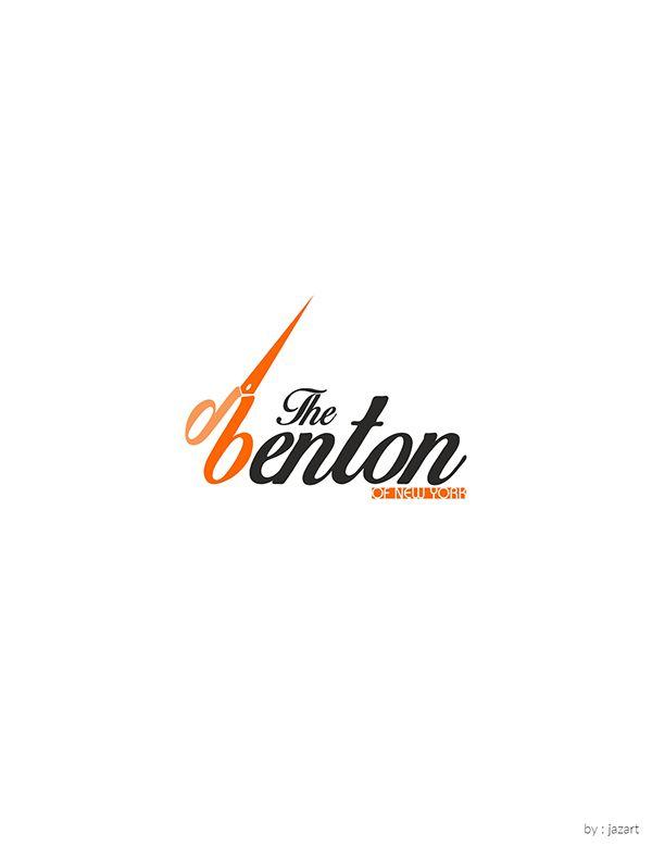 The Benton Logo (of the new york) #benton  #hairdresser #hairdresserlogo #baagi #punjab