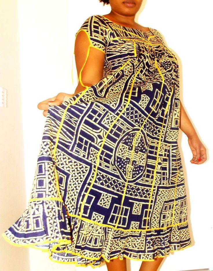 Robe Longue D Origine Camerounaise Appel 233 E Kaba Ngondo