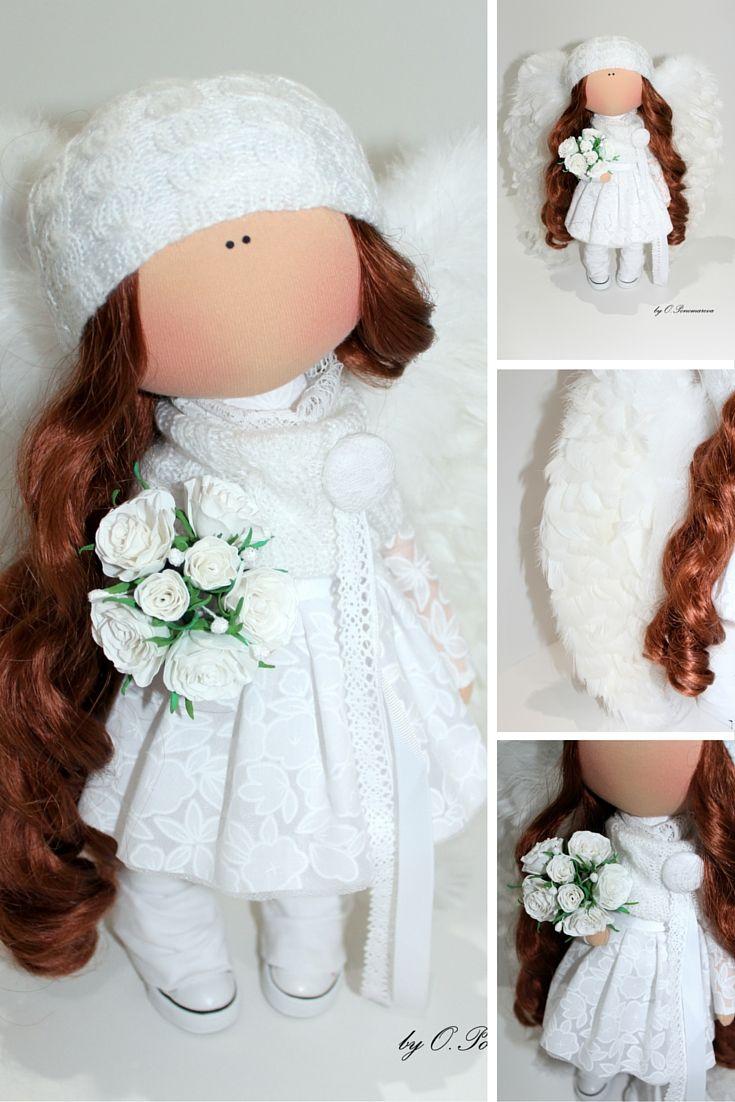 Tilda doll handmade, cloth doll, textile doll, fabric doll, decor doll, art doll