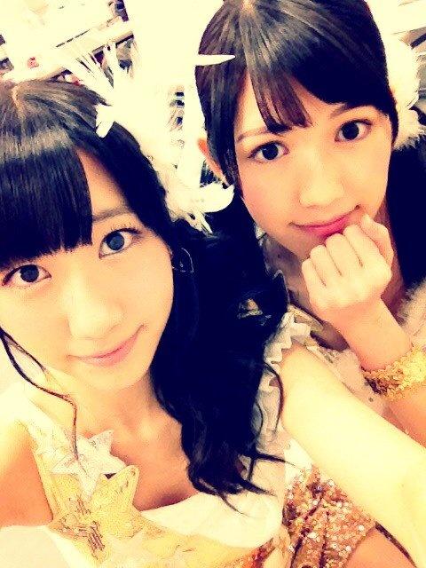 ゆきりん&まゆゆ #AKB48