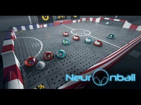 Neuronball browser game first look gameplay español
