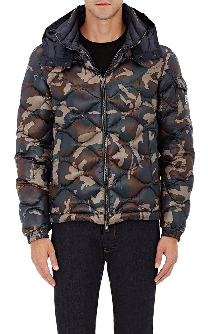cfad7a901d408 MONCLER Camouflage Tech-Fabric Hooded Puffer Jacket. #moncler #cloth #all