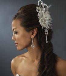 8 best Bridal Hair Fascinators images on Pinterest | Wedding hair ...