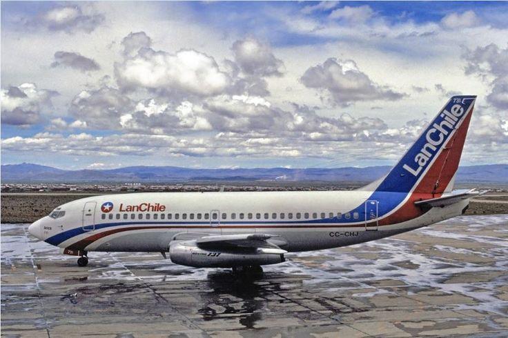 LanChile Boeing 737-200