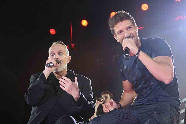 Pablo Alborán vuelve a los escenarios en el concierto de Miguel Bosé