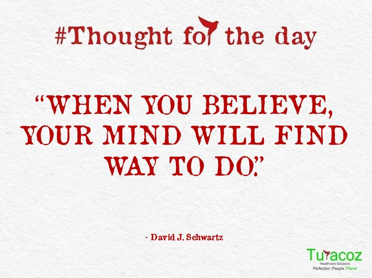#TuracozHealthcareSolutions - #ThoughtForTheDay.