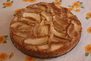 Pasticciando Dolcemente: Torta di mele e gocce di cioccolato vegan