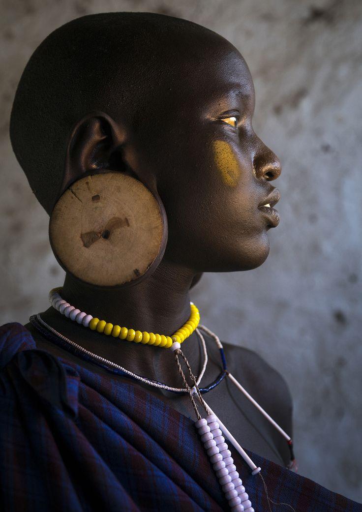 "https://flic.kr/p/txSHtK | Mursi Tribe Beauty, Hail Wuha Village, Omo Valley, Ethiopia | Taken with Sony a7r  © Eric Lafforgue <a href=""http://www.ericlafforgue.com"" rel=""nofollow"">www.ericlafforgue.com</a>"