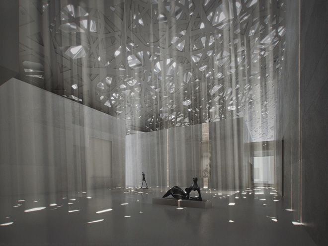 MODERN MUSEUMS | Louvre - Abu Dhabi by Jean Nouvel | bocadolobo.com/ #modernarchitecture #architecture