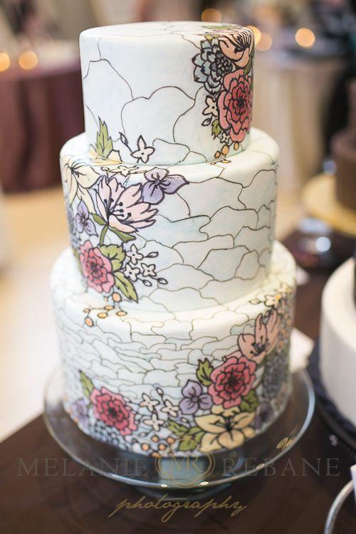 Auntie Loo's Treats Tattoo Inspired Wedding Cake Photo by Melanie Rebane Photography Ottawa Bridal Party 2013 – Highlights