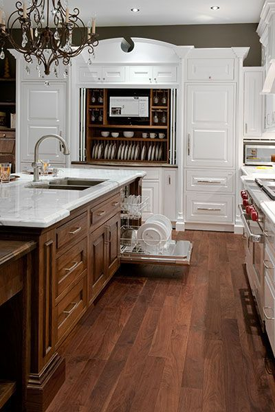 British Colonial kitchen
