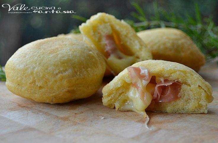 Bombe+salate+ricetta+veloce+senza+lievitazione