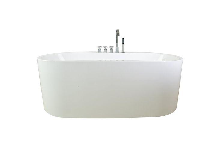Akdy Bathroom Bathtubs Freestand Acrylic Bath Tub With
