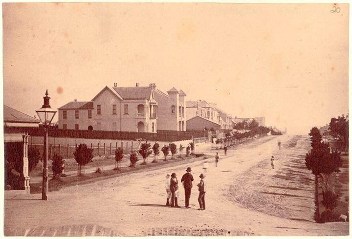 Johnston St, Annandale, c1880.