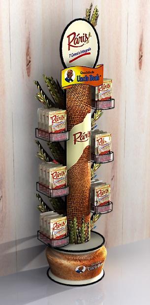 Point of Purchase Design | POP Design | Food POP | Dy chão raris | MyFolio
