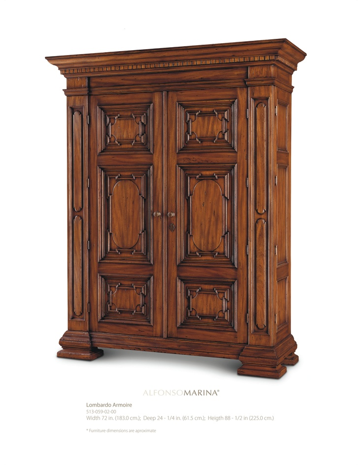 lombardo armoire by alfonso marina ebanista. Black Bedroom Furniture Sets. Home Design Ideas