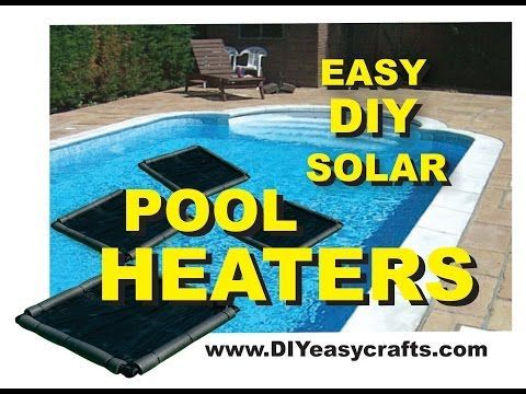 Easy and CHEAP DIY Solar Pool Heater - http://www.wisediy.com/easy-and-cheap-diy-solar-pool-heater/