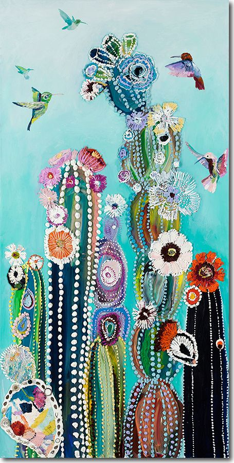 Eureka - STARLA MICHELLE HALFMANN - so vibrant and whimsical