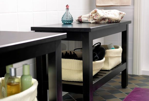 225 best images about ikea on pinterest ikea ps - Small storage table for bathroom ...