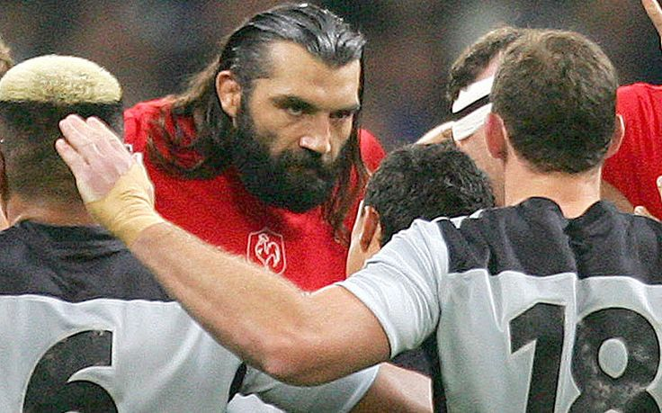 Rugby's top 20 hard men - in pictures - Telegraph. Sebastien Chabal