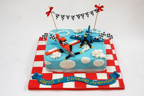 Beautiful Birthday Cakes » Planes Cake