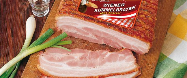 Wiener Kümmelbraten - Gebratene Spezialitäten - Wiesbauer - Österreichische Wurstspezialitäten GmbH