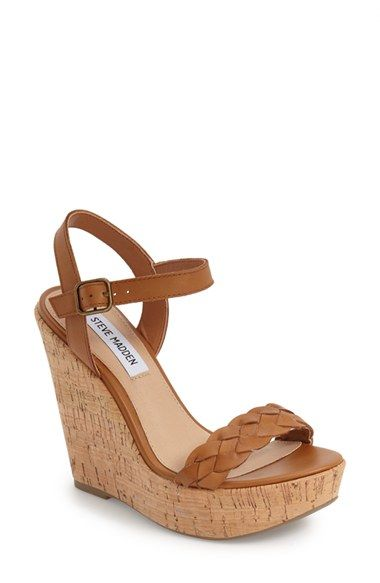 Steve Madden 'Emmey' Platform Wedge Sandal (Women) available at #Nordstrom