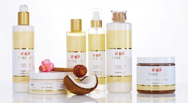 Coconut milk and honey - Pure Fiji