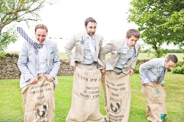 Bruiloft boerderij spellen