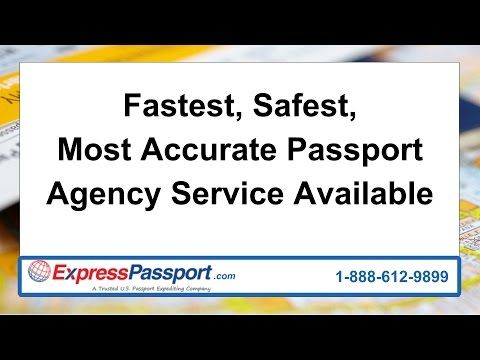 In need of a passport? Express Passport Agency has all of your passport needs covered from passport renewal to obtaining a passport for the first time. Get y...