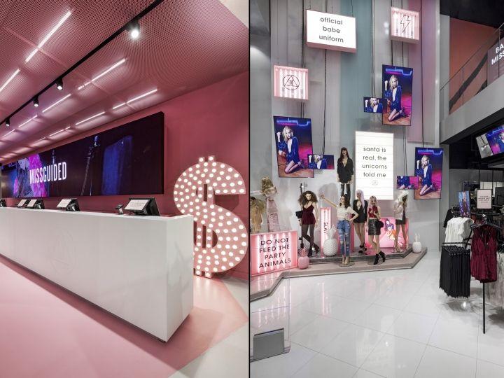 Missguided Westfield Stratford store by Dalziel-Pow, London – UK » Retail Design Blog