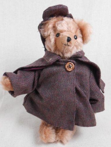 Adopt a bear today SHERLOCK HOLMES by: The English Teddy Bear Company
