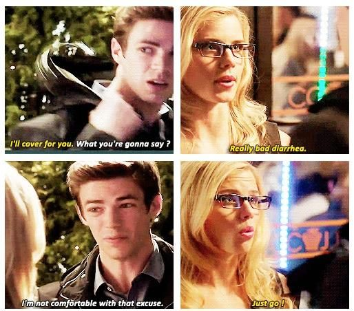 The Flash - Felicity Smoak & Barry Allen | arrow / the ...