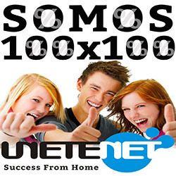 Porque me gusta Unetenet? Porque cualquier persona puede ganar en una semana de $25 a $1300 dólares solo con su propio esfuerzo, ofreciendo nuestras herramientas online, GANANCIAS SI O SI!! http://tuoportunidad.unetenet.com